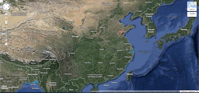 Провинция Шаньдун, город Линьи, Китай